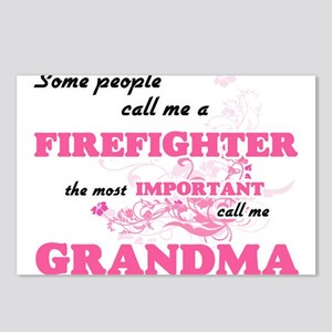 Some call me a Firefighte Postcards (Package of 8)